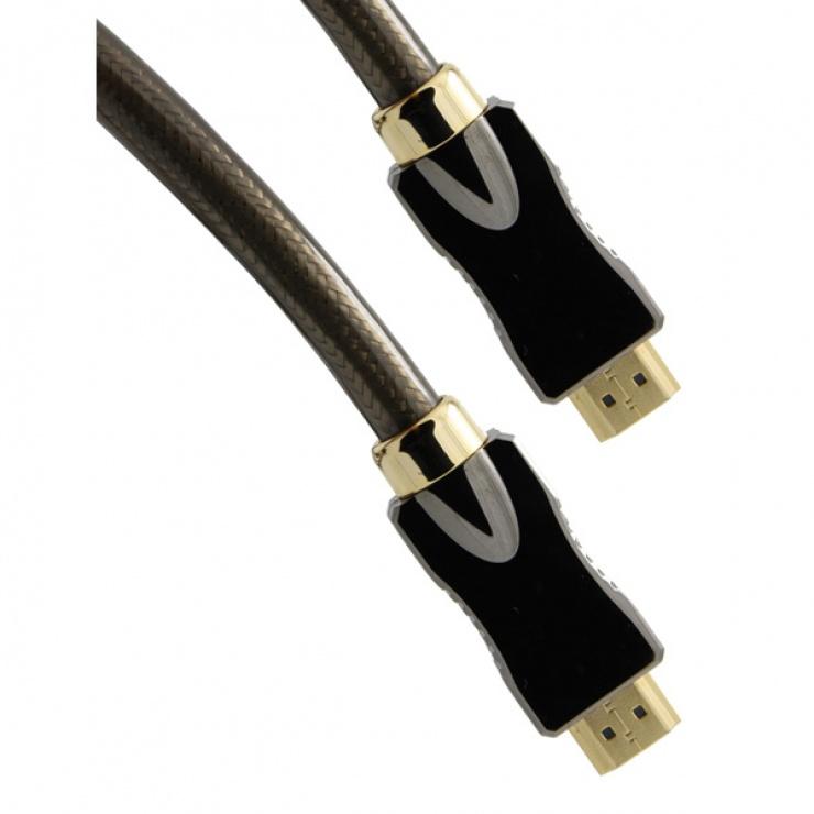 Imagine Cablu HDMI 4K Ultra HD cu Ethernet v2.0 T-T 3m, Roline 11.04.5682