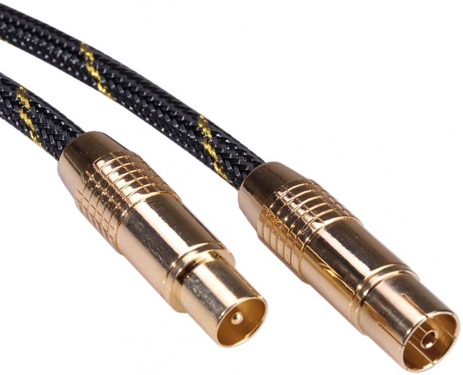 Imagine Cablu prelungitor antena GOLD T-M 10m, Roline 11.09.4249