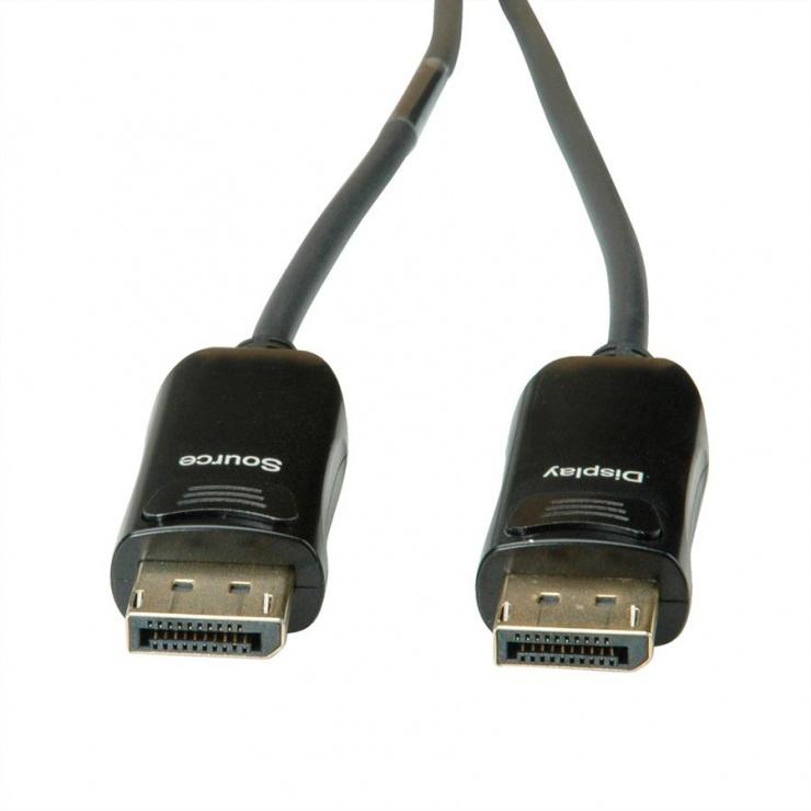 Imagine Cablu Displayport v1.2 UHD activ (AOC) T-T 30m, Roline 14.01.3490-1