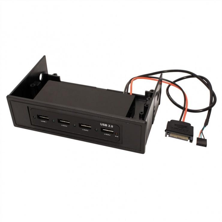 Imagine HUB USB 2.0 intern 4 porturi, Value 14.99.5031