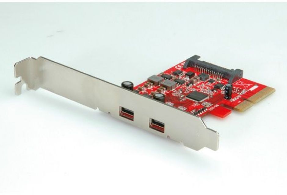 Imagine PCI Express cu 2 x USB 3.1 tip C, Roline 15.06.2143