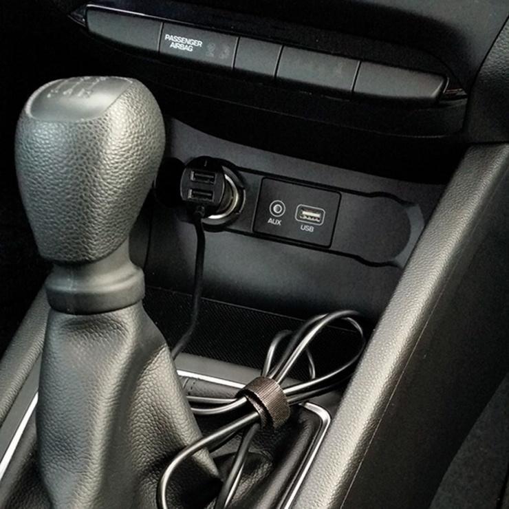 Imagine Incarcator auto 4 x USB 9.6A cablu 1.8m, Value 19.99.1063