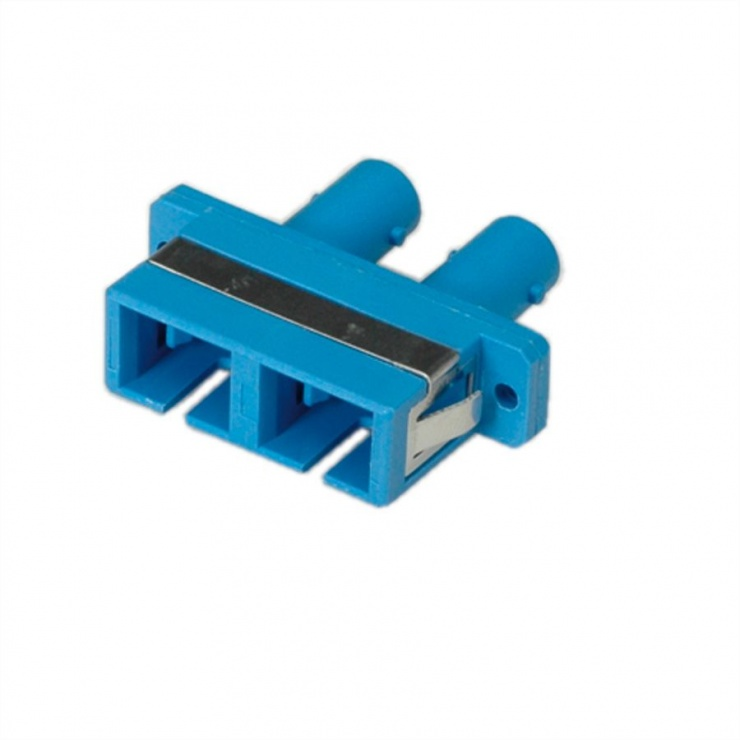 Imagine Adaptor fibra optica ST/SC Duplex Multimode PB, Roline 21.17.0125