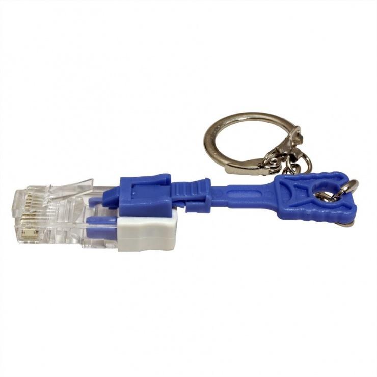 Imagine Conector RJ45 cu sistem de blocare, Roline 21.17.3067