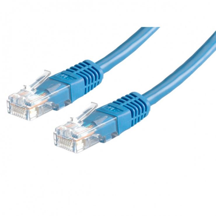 Imagine Cablu retea UTP Cat.6, albastru 1.5m, Value 21.99.0954