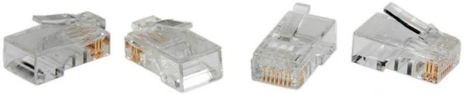 Imagine Mufe RJ45 cat 5e neecranate set 10 buc, Value 21.99.3060
