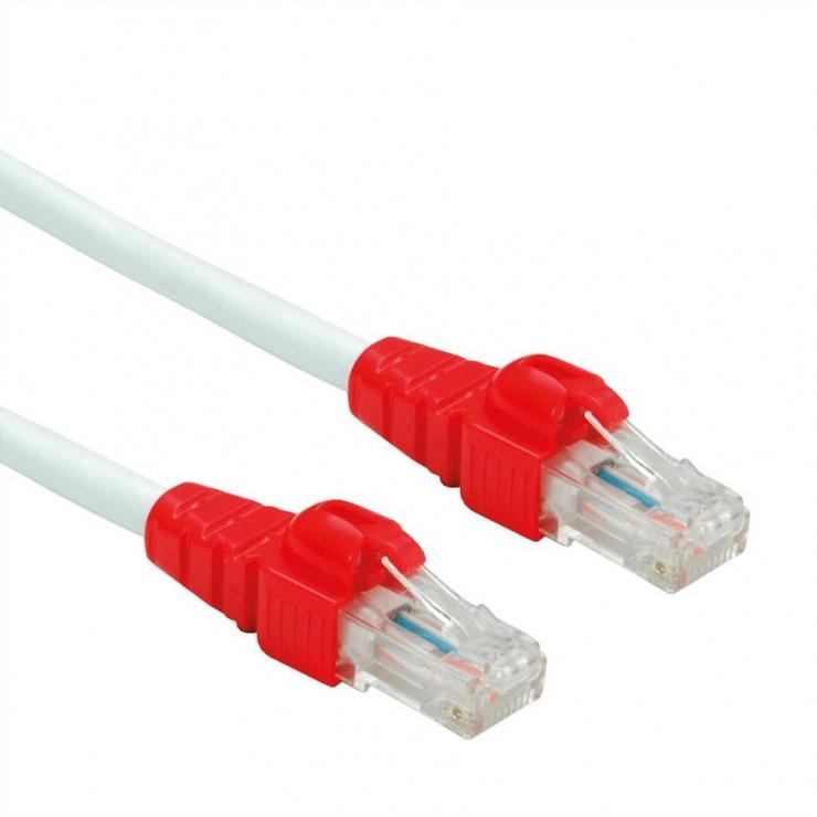 Imagine Cablu de retea EASY UTP cat. 6A Alb 3m, Roline 21.15.2464