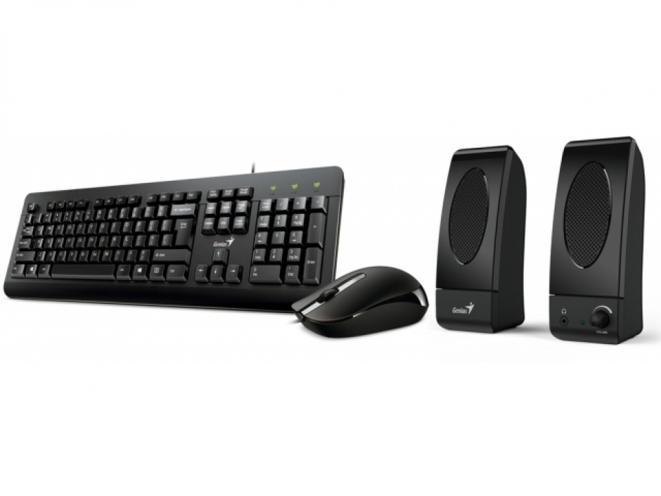 Imagine Kit 3 in 1 USB (TASTATURA + MOUSE + BOXE GENIUS) KMS-U130, Genius