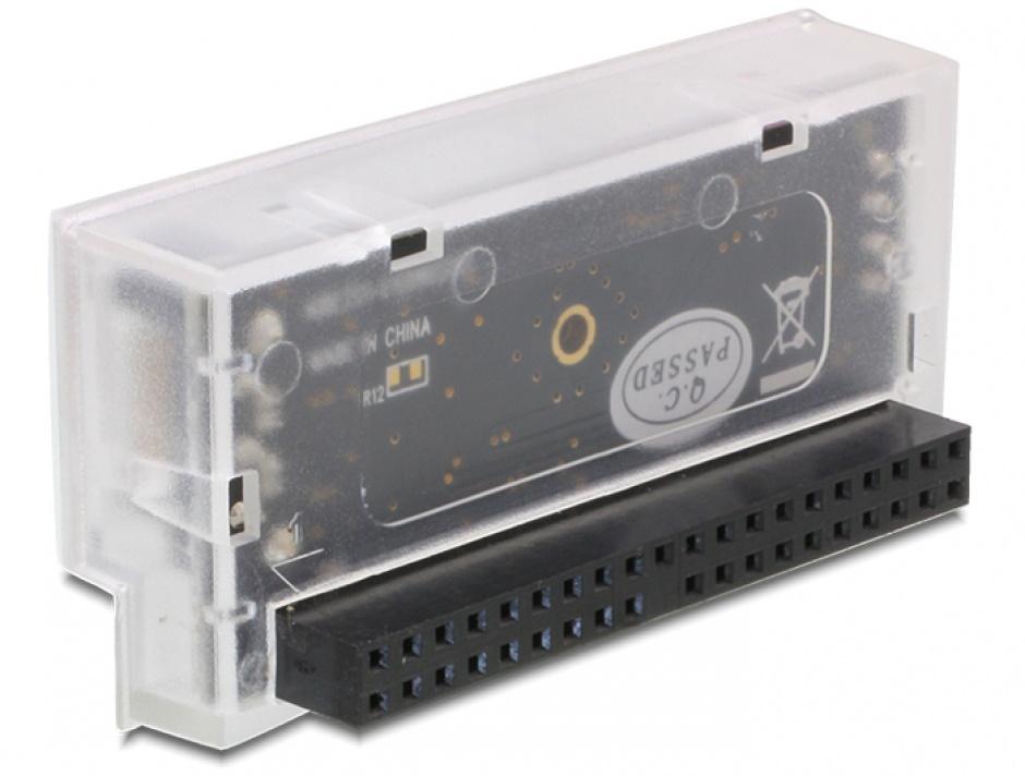 Imagine Convertor IDE 40 pini la SATA unidirectional, Delock 61719-1