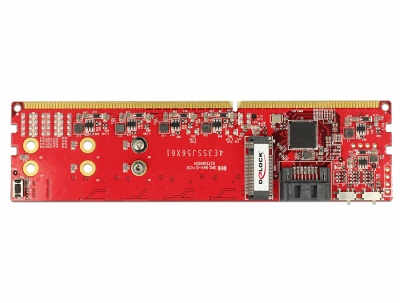 Imagine Adaptor DDR3 la Dual SATA 6Gb/s RAID Module - 2 x M.2 NGFF, Delock 62622-3