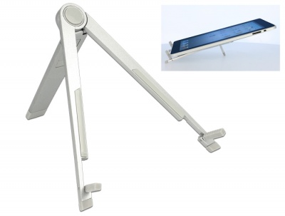 Imagine Stand aluminiu pentru Tablet / iPad / E-Book-Reader, Delock 20646
