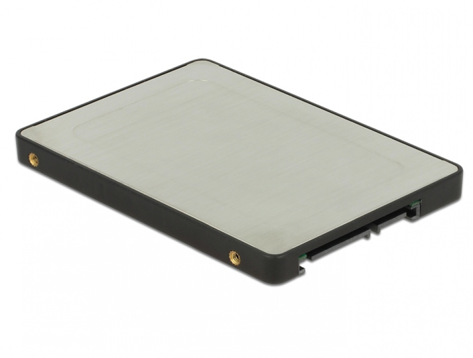 "Imagine Adaptor 2.5"" SATA 22 pini la 2 x M.2 RAID + rack extern, Delock 62791-2"