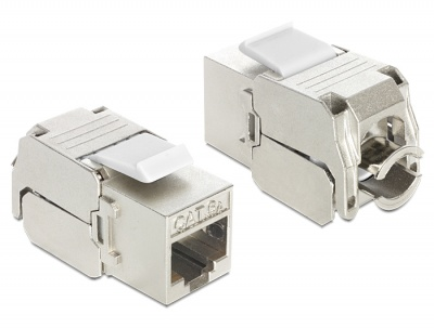 Imagine Modul Keystone RJ45 female la LSA Cat.6A, Delock 86205