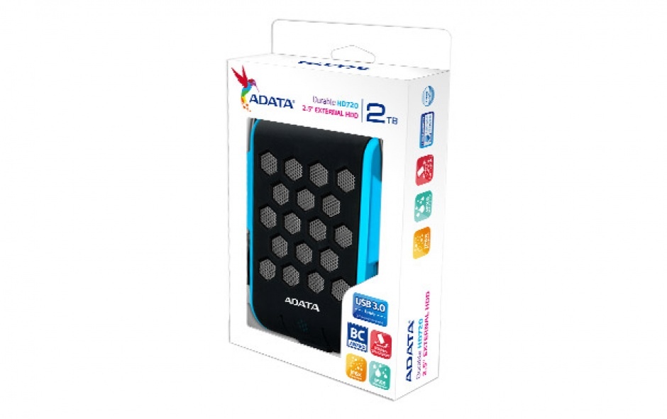 """Imagine HDD ADATA EXTERN 2.5"""" USB 3.0 1TB HD720 Blue"""