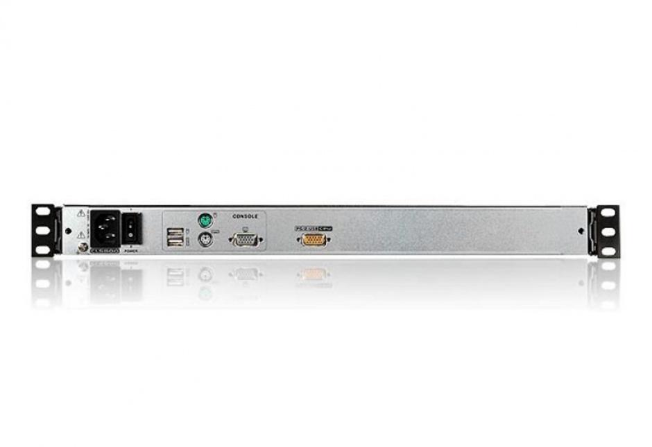 "Imagine Consola pentru KVM LCD 19"" PS/2-USB VGA Dual Rail, ATEN CL5800N"