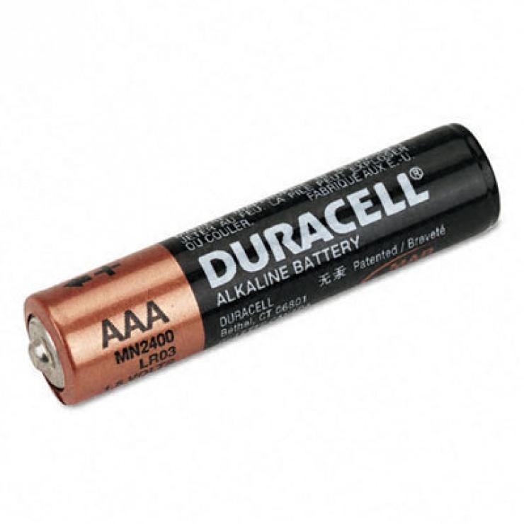 Imagine Set 2 baterii Duracell AAA LR3 Blister