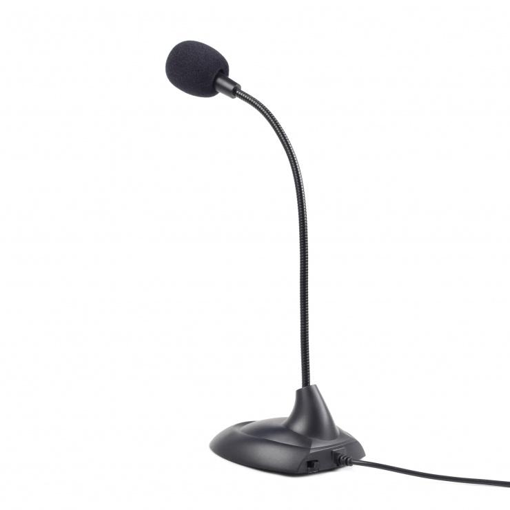 Imagine Microfon cu jack 3.5mm, Gembird MIC-205