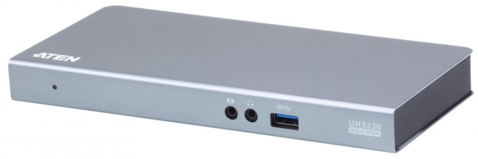 Imagine Docking station USB-C la HDMI, Displayport, RJ45 Gigabit, 3 x USB 3.1, 1 x USB-C PD (Power Delivery), ATEN UH3230