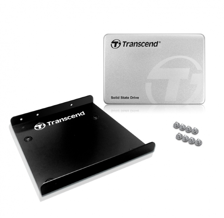 "Imagine SSD TRANSCEND SSD370S 256Gb SATA III + bracket 3.5"" Aluminium"