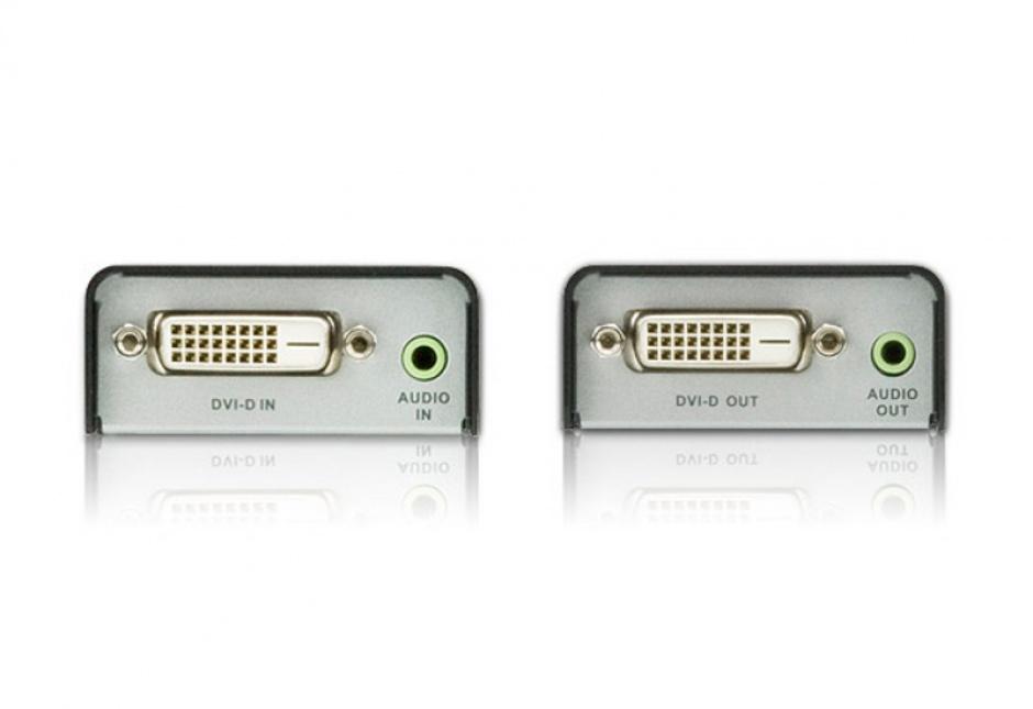 Imagine Extender DVI-D Cat5e cu Audio 60m, ATEN VE600A