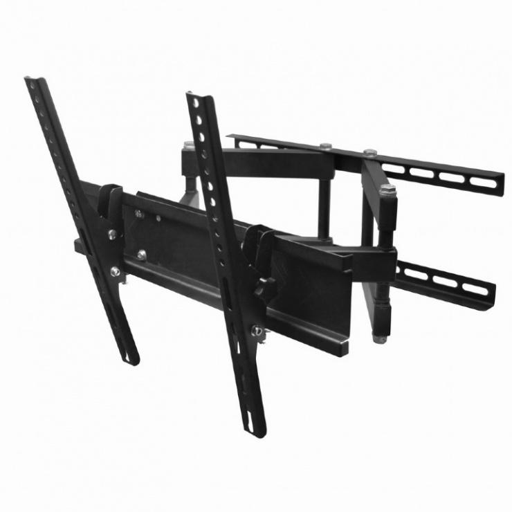"Imagine Suport montare perete plasma/LCD, 26"" - 55"" (50 kg), inclinare, Gembird WM-55RT-03"