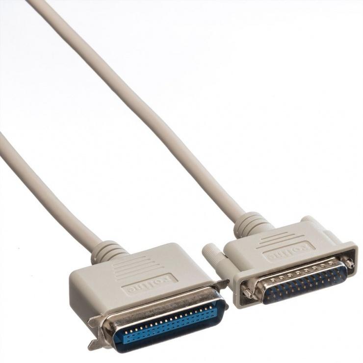 Imagine Cablu imprimanta paralel bidirectional 3m, Roline 11.01.1030
