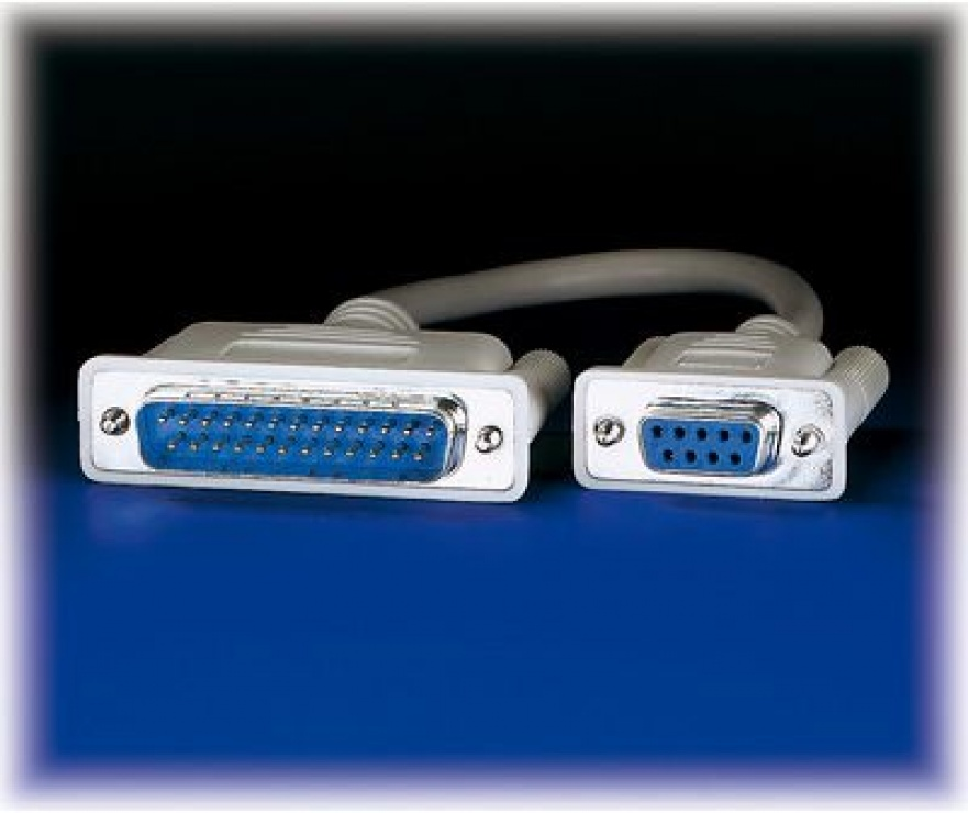 Imagine Cablu modem 9 pini la 25 pini M-T 1.8m, Roline 11.01.4518-2