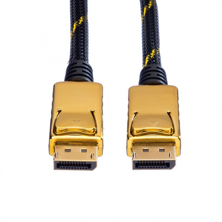 Imagine Cablu Displayport GOLD v1.2 T-T 1.5m, Roline 11.04.5639-1