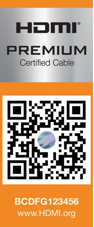 Imagine Cablu HDMI Ultra HD Premium T-T 1m, Roline 11.04.5801-4