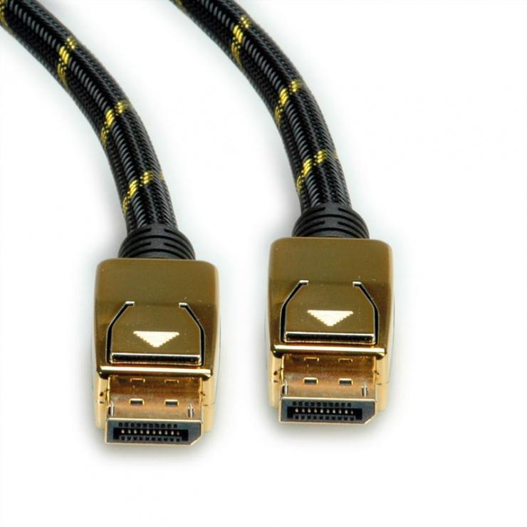 Imagine Cablu Displayport 8K@30Hz Ultra HD T-T 2m, Roline 11.04.5921-2