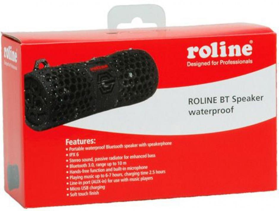Imagine Boxa portabila Bluetooth waterproof, Roline 15.08.0990-5