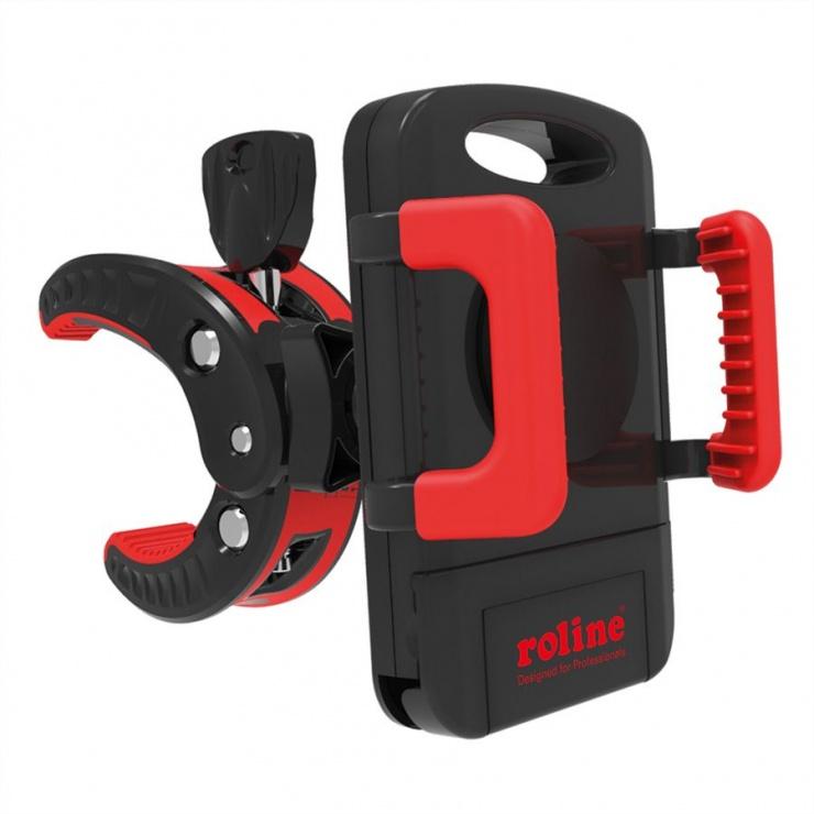 Imagine Suport smartphone pentru bicicleta/echipament fitness , Roline 17.03.0031