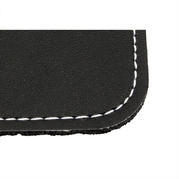 Imagine Mouse pad imitatie piele Negru, Roline 18.01.2046-2