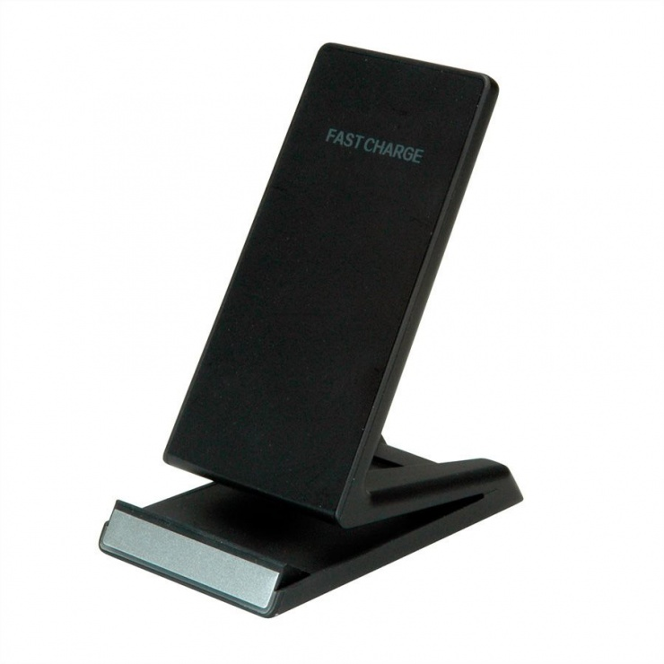 Imagine Stand smartphone cu incarcare wireless Fast Charge 10 W, Roline 19.11.1010