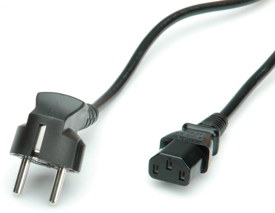 Imagine Cablu de alimentare PC MYCON IEC320 C13 1.8m negru, CON2309-1
