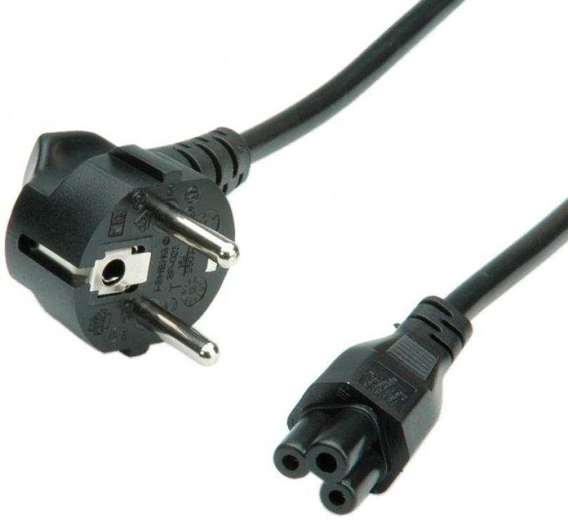 Imagine Cablu de alimentare MYCON IEC320 la C5 Mickey Mouse 1.8m negru, CON2308