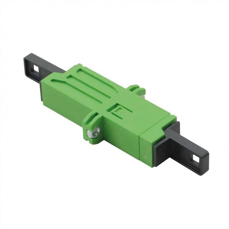Imagine Cupla fibra optica LSH Simplex Verde Single mode, Roline 21.17.0040
