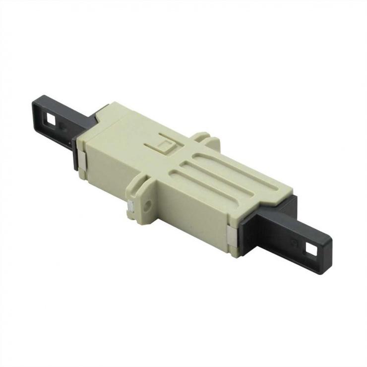 Imagine Cupla fibra optica LSH simplex beige Multimode, Roline 21.17.0041