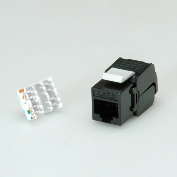 Imagine Keystone modular Cat.6, RJ-45, Roline 26.11.0352-1