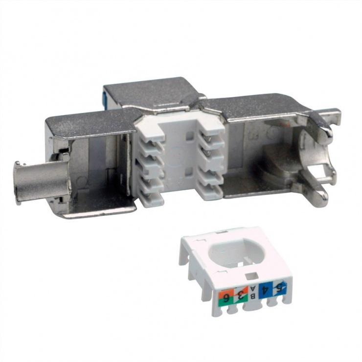 Imagine Keystone RJ45 cat 6A STP tool-free, Value 26.99.0378