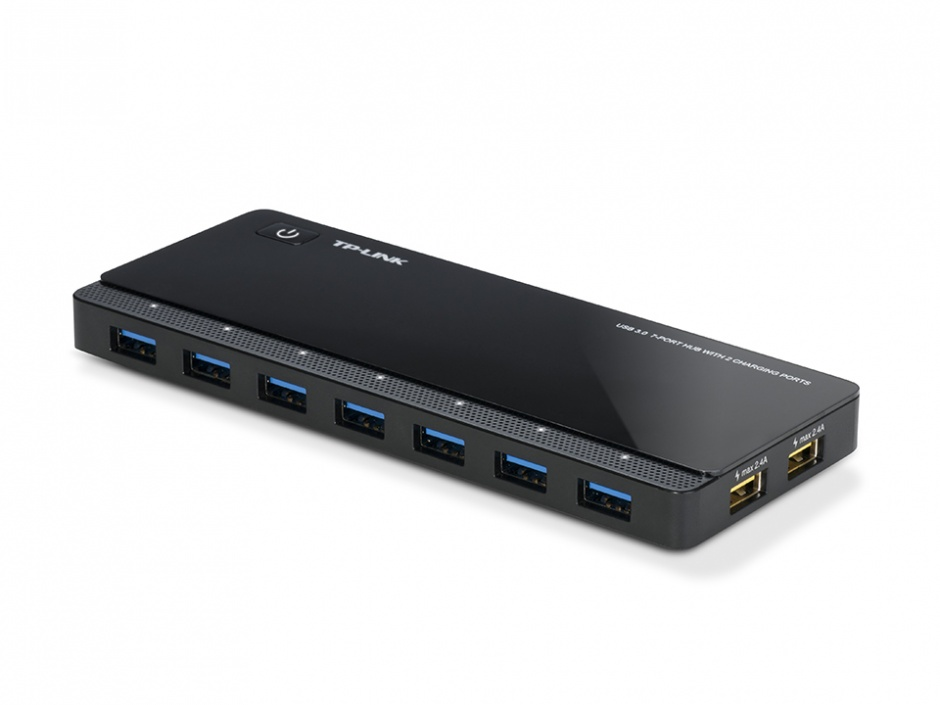 Imagine Hub USB 7 x USB 3.0 + 2 porturi alimentare, TP-LINK UH720-1