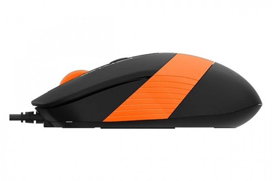 Imagine Mouse USB optic A4Tech Fstyler Negru/Orange, FM10 Orange-2