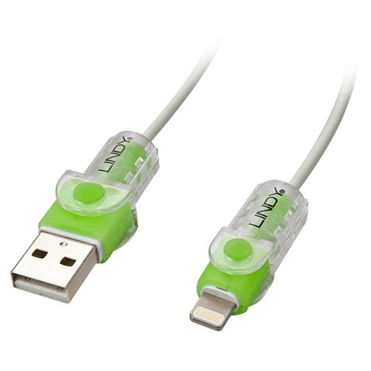 Imagine Kit de protectie pentru cablul Lightning Verde, Lindy L31388-2