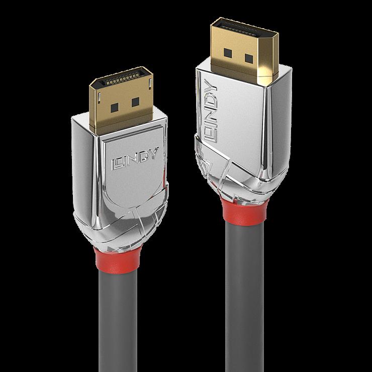 Imagine Cablu DisplayPort 4K@60Hz T-T v1.2 Cromo Line 5m, Lindy L36304
