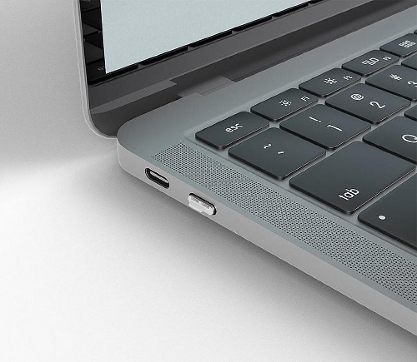 Imagine Set 10 bucati Port Blocker USB-C/Thunderbolt 3 Alb, Lindy L40439-2