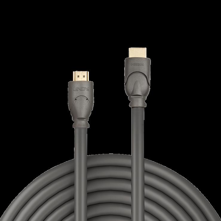 Imagine Cablu HDMI v2.0 Premium 4K T-T 7.5m, Lindy L41115-1
