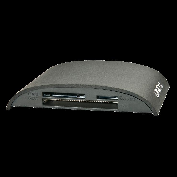 Imagine Cititor de carduri USB 3.1 la CF/MS/SD/Micro SD UHS-II, Lindy L43163