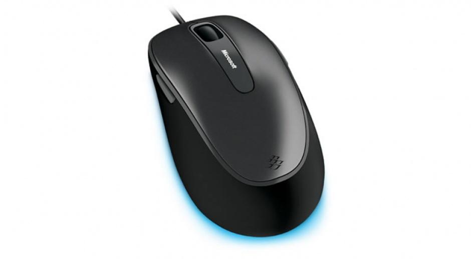 Imagine Mouse USB BlueTrack Comfort 4500 negru-gri 5 butoane, Microsoft