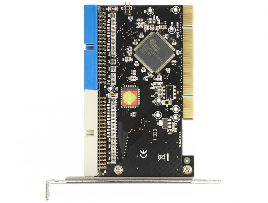 Imagine PCI la 2 x IDE 40 pini, Delock 70098-2
