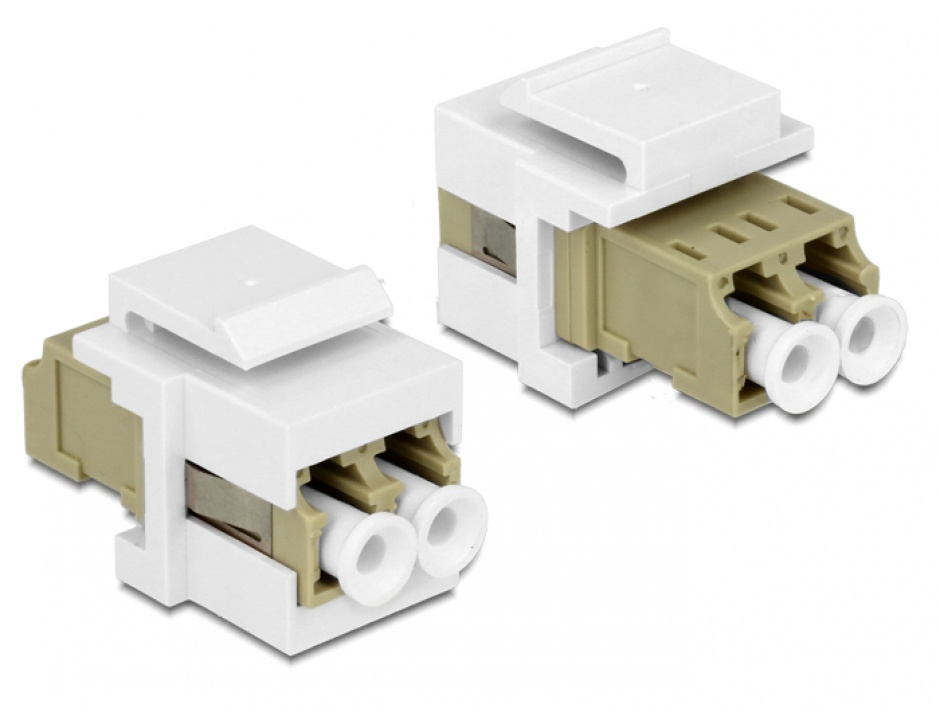 Imagine Modul Keystone LC Duplex M-M multimode, Delock 86347